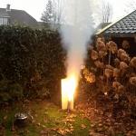 20171202 - Slow white flame